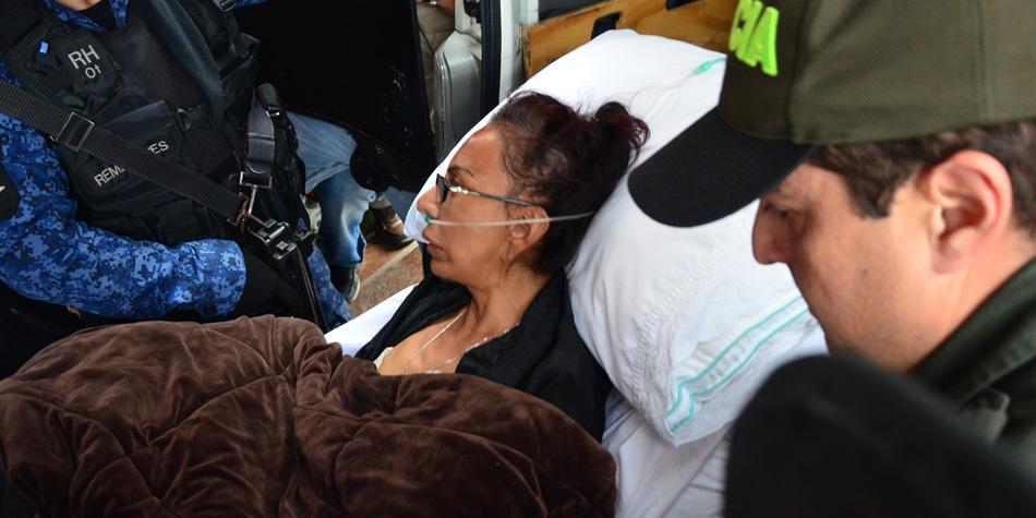 Juez Sexto revocó el arresto domiciliario de 'La Gata'