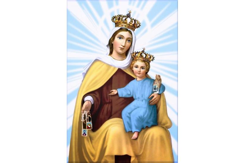 La Su En Dia Oraciones Del Carmen Virgen