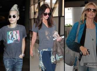 Rita Ora admira a Madonna, Megan Fox y Hedi Klum en LAX