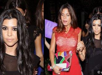 Kourtney Kardashian de fiesta