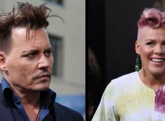 Pink evitó a su amor platónico Johnny Depp