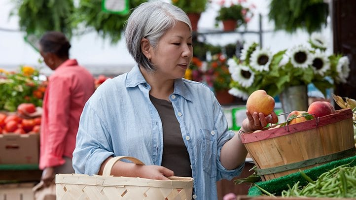 Getting Enough Fruits and Veggies for Older Adults