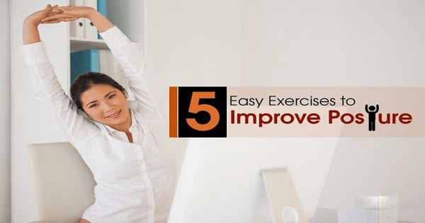 Improve Posture with Five Exercises