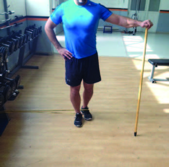 Standing SR Hip Abduction Start - El Paso Chiropractor