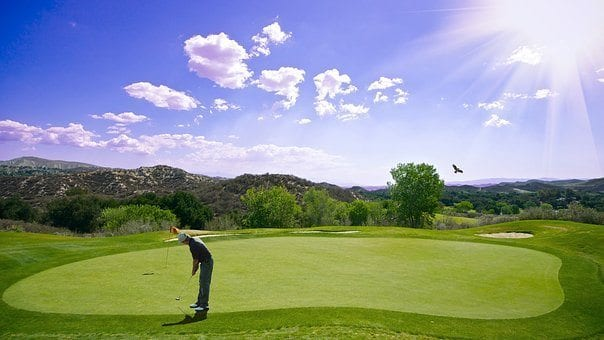 blog picture of man playing golf