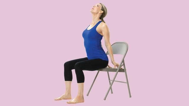 The Best Chair Yoga Moves For Back Pain