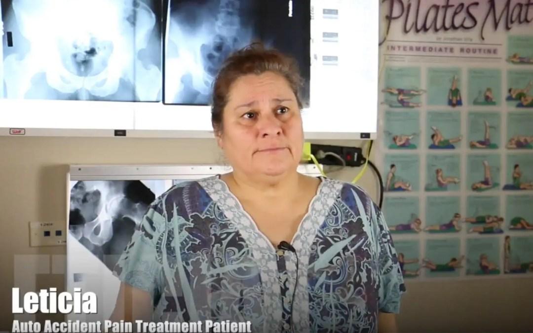 Trattamento infortuni incidente auto El Paso, TX | Leticia