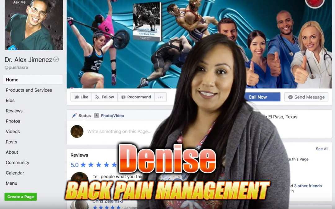 Back Pain Management A El Paso, TX | video