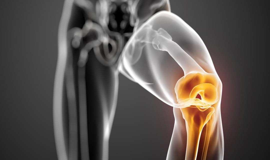 A joelho após substituição do dos isquiotibiais espasmo
