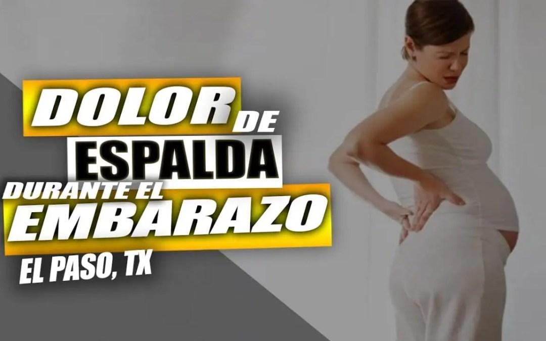 Terapia para Dolor de Espalda en Embarazo | El Paso, Tx (2019)