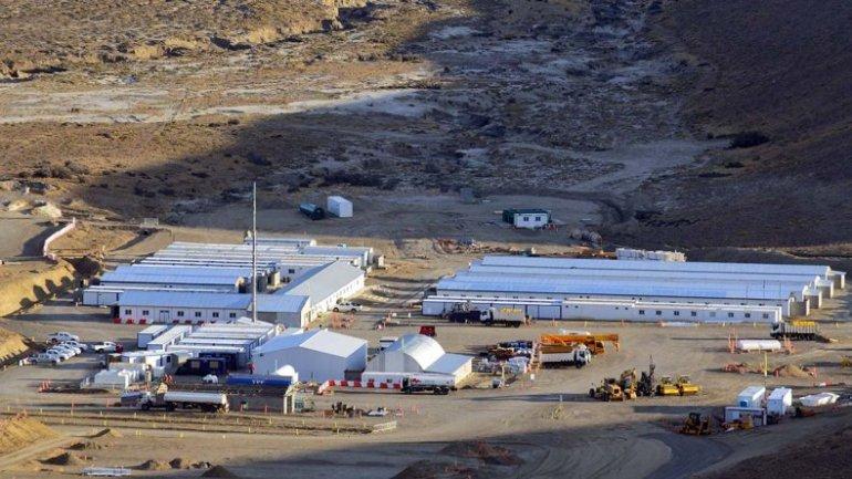Caminos de accesos y campamentos de obreros ya están listos