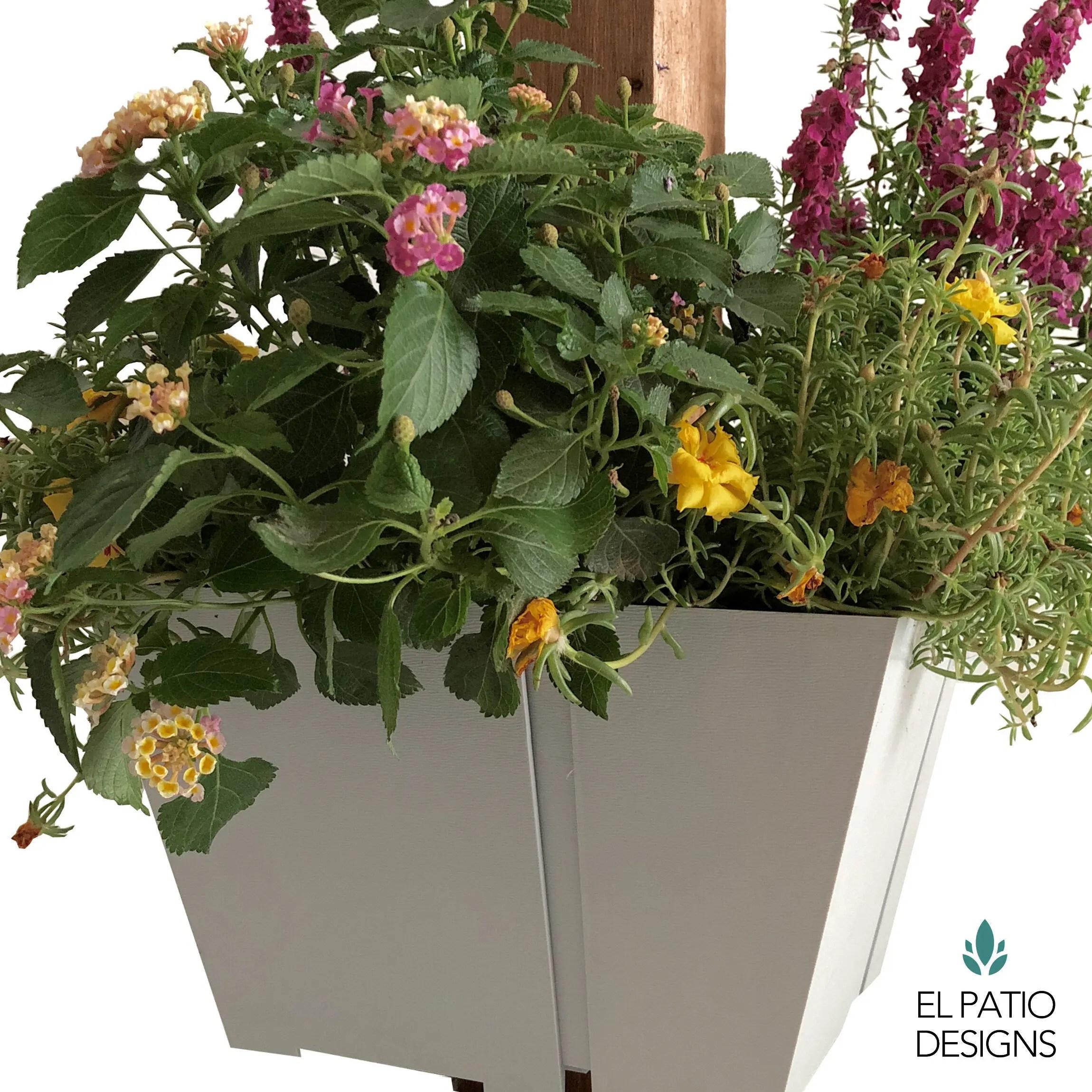 El Patio Post Planter El Patio Designs