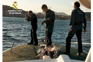 Sorprendido un barco pesquero mientras se encontraba pescando en la Reserva de la isla de Tabarca - (foto 2)