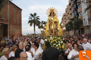 La imagen peregrina de la Virgen de los Desamparados visita este fin de semana Alfafar