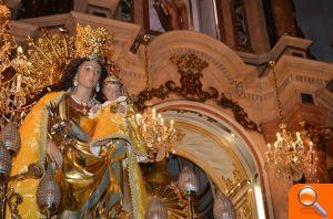 La Virgen de los Desamparados recorre las calles de Alfafar