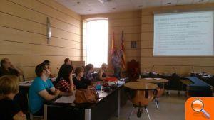 L'Ajuntament d'Alfafar acogió un taller formativo de la Plataforma de Afectados por la Hipoteca PAH