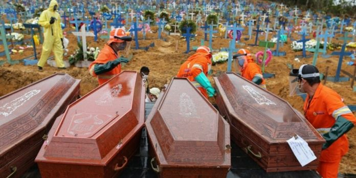 COVID-19-Brasil: reportan 751 muertes en 24 horas