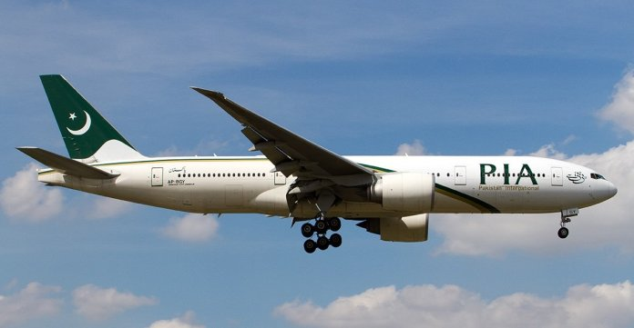 Pakistan International Airlines se estrella