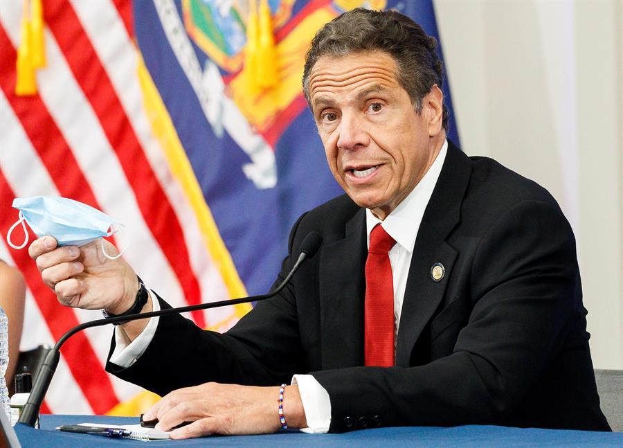 En la imagen, el gobernador del estado de Nueva York, Andrew Cuomo. EFE/JUSTIN LANE/Archivo