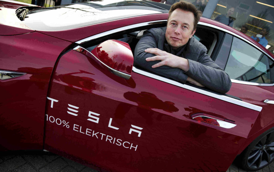California: Tesla 1er. lugar en bolsa 208 mil millones US