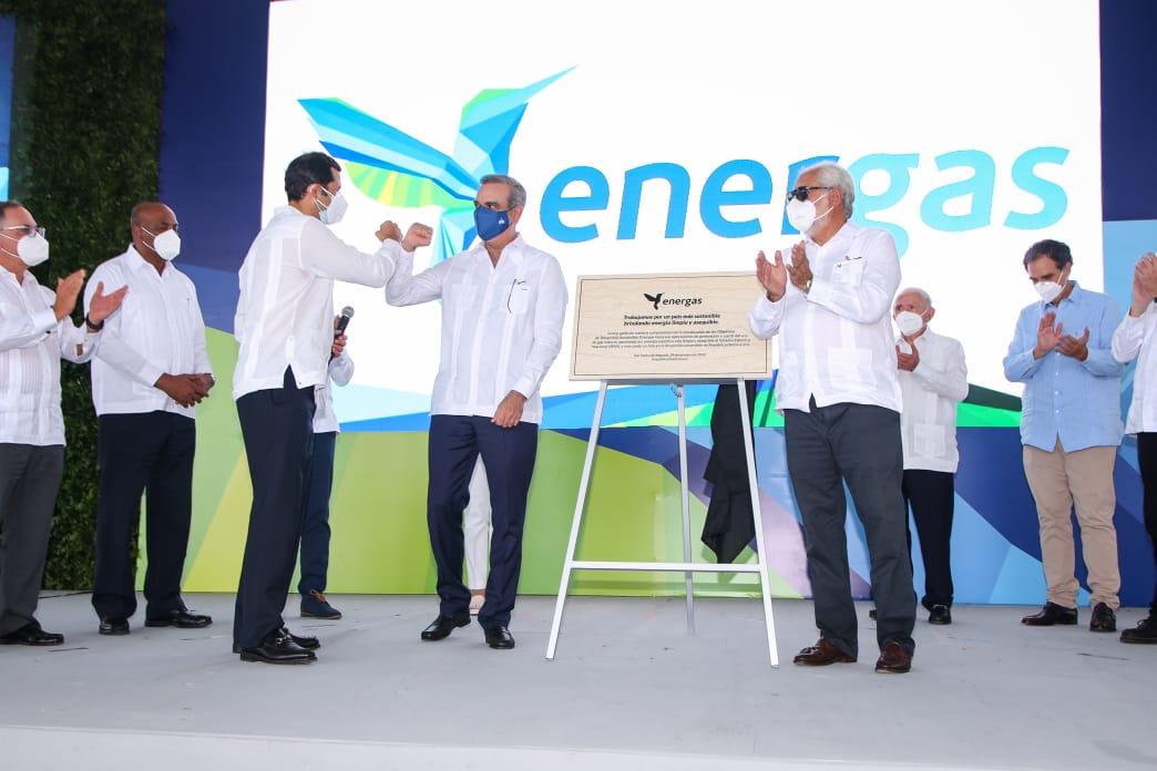 SPM: Presidente Abinader realiza encendido de 300 MW a gas