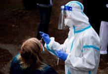 "avalancha de infectados tras día de ""Acción de Gracias"" en Estado Unidos"