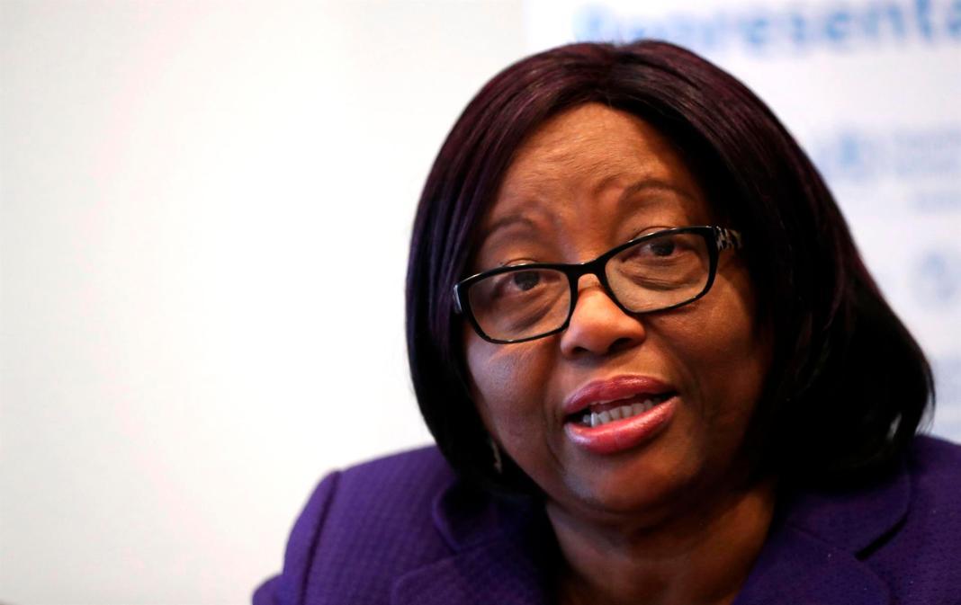La directora de la Organización Panamericana de la Salud (OPS), Carissa Étienne,