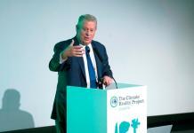 """Al Gore: """"La naturaleza está alzando su voz como nunca lo había hecho antes"""""""