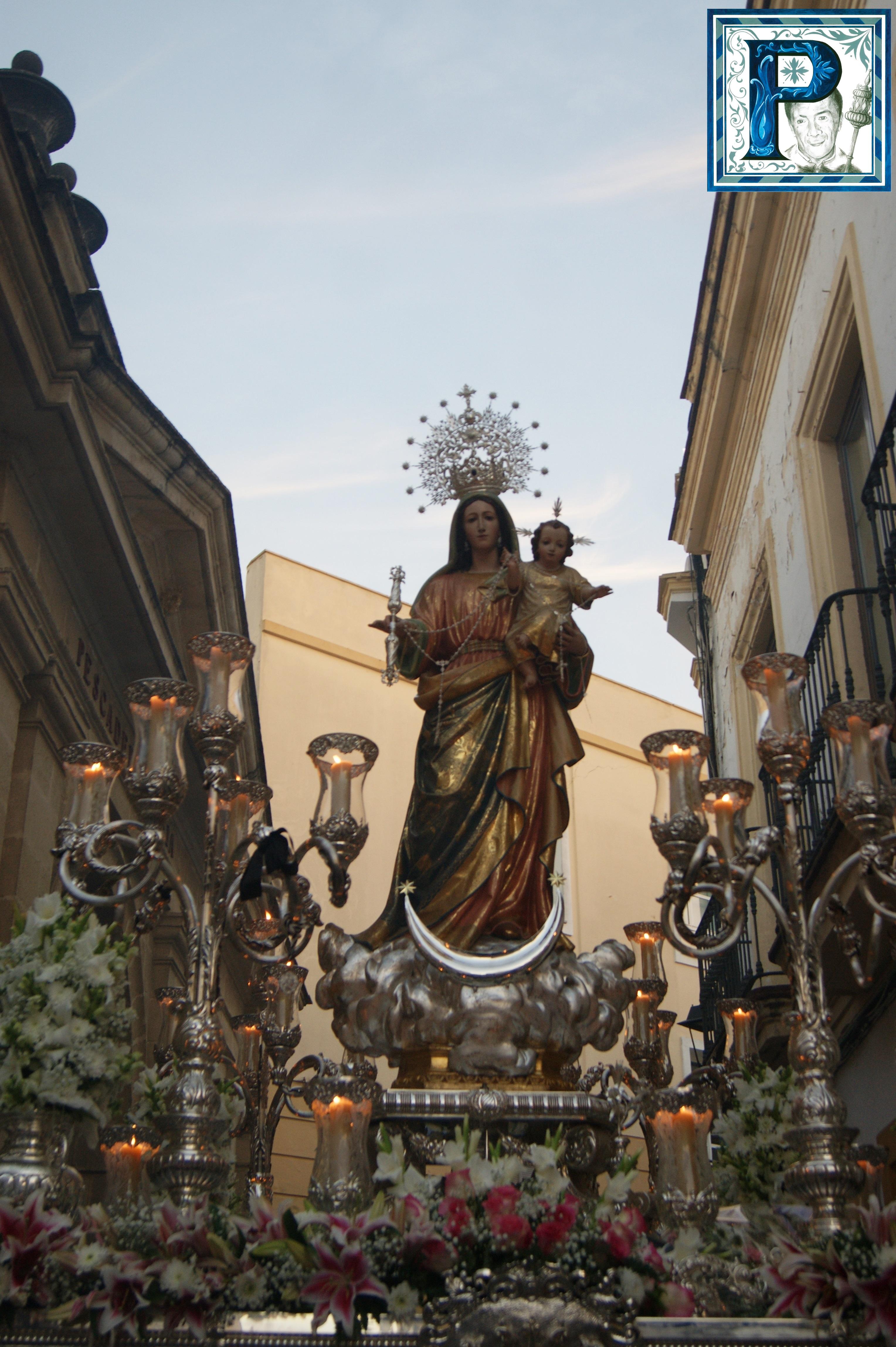 A PIE DE PASO: «La Virgen del Rosario del Beaterio entrando en Pozuelo»