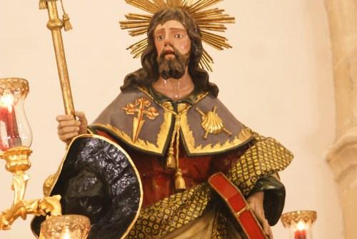 Hoy se llevará a cabo la igualá del Apóstol Santiago