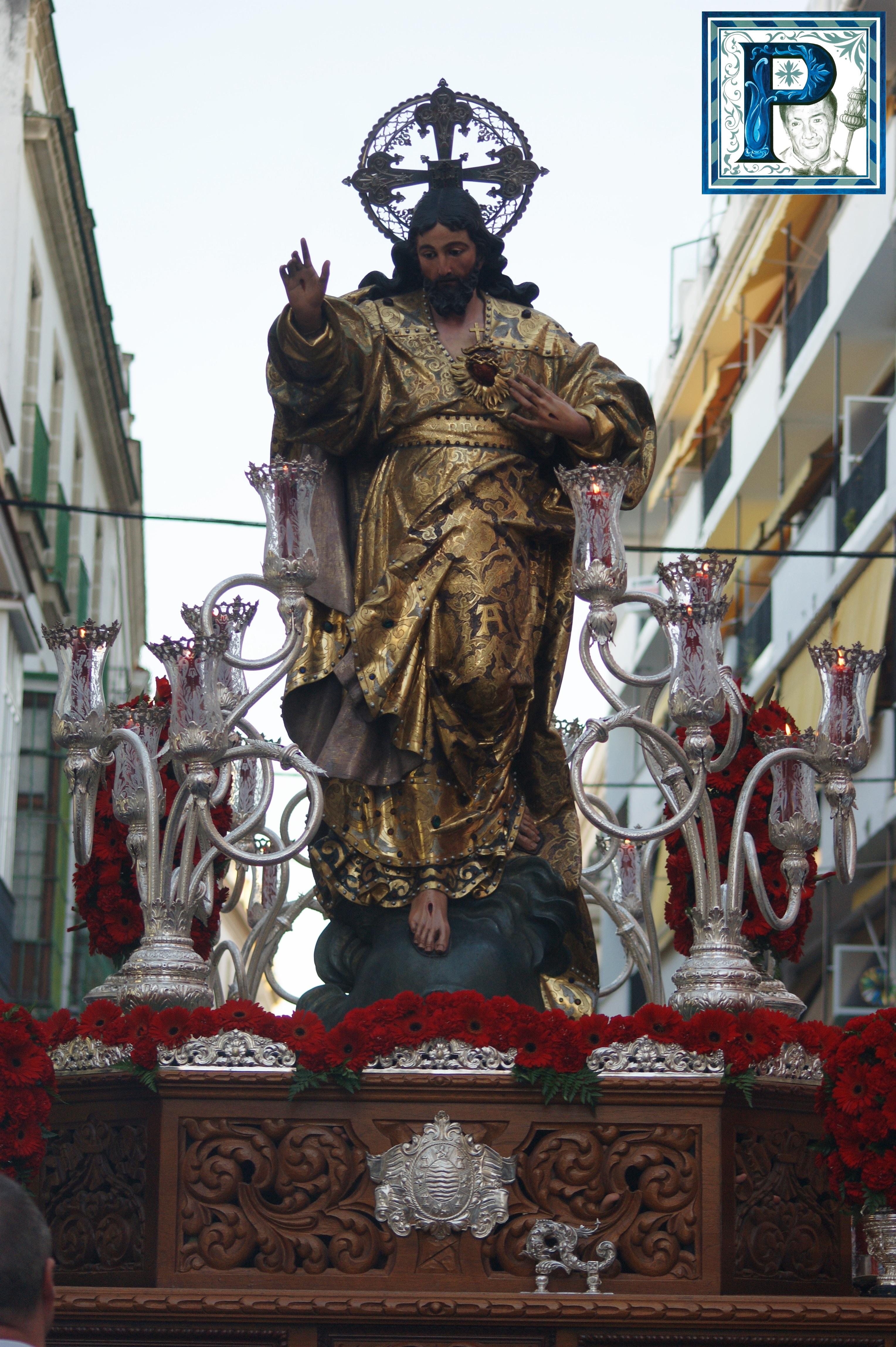 Cultos en honor al Sagrado Corazón de Jesús en la Parroquia de Madre de Dios