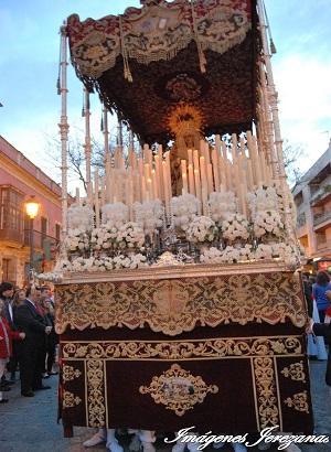 El regreso de la Hermandad del Prendimiento a Santiago con todo detalle