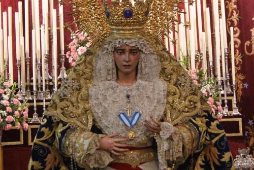 La Virgen de la Estrella será restaurada por Fernando Aguado