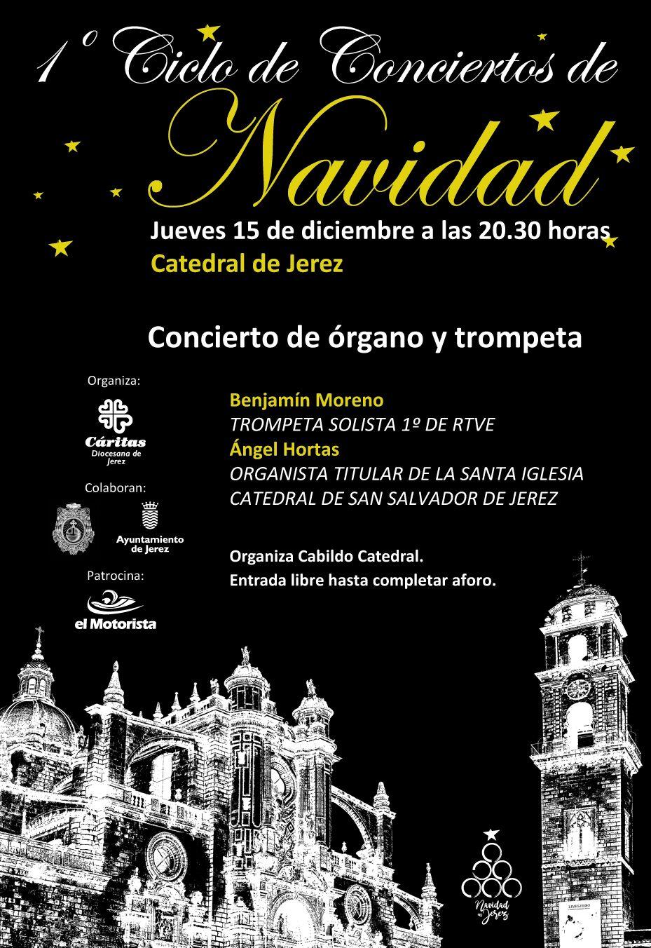 Conciertos de Navidad en la Catedral los días 15 y 17 de diciembre