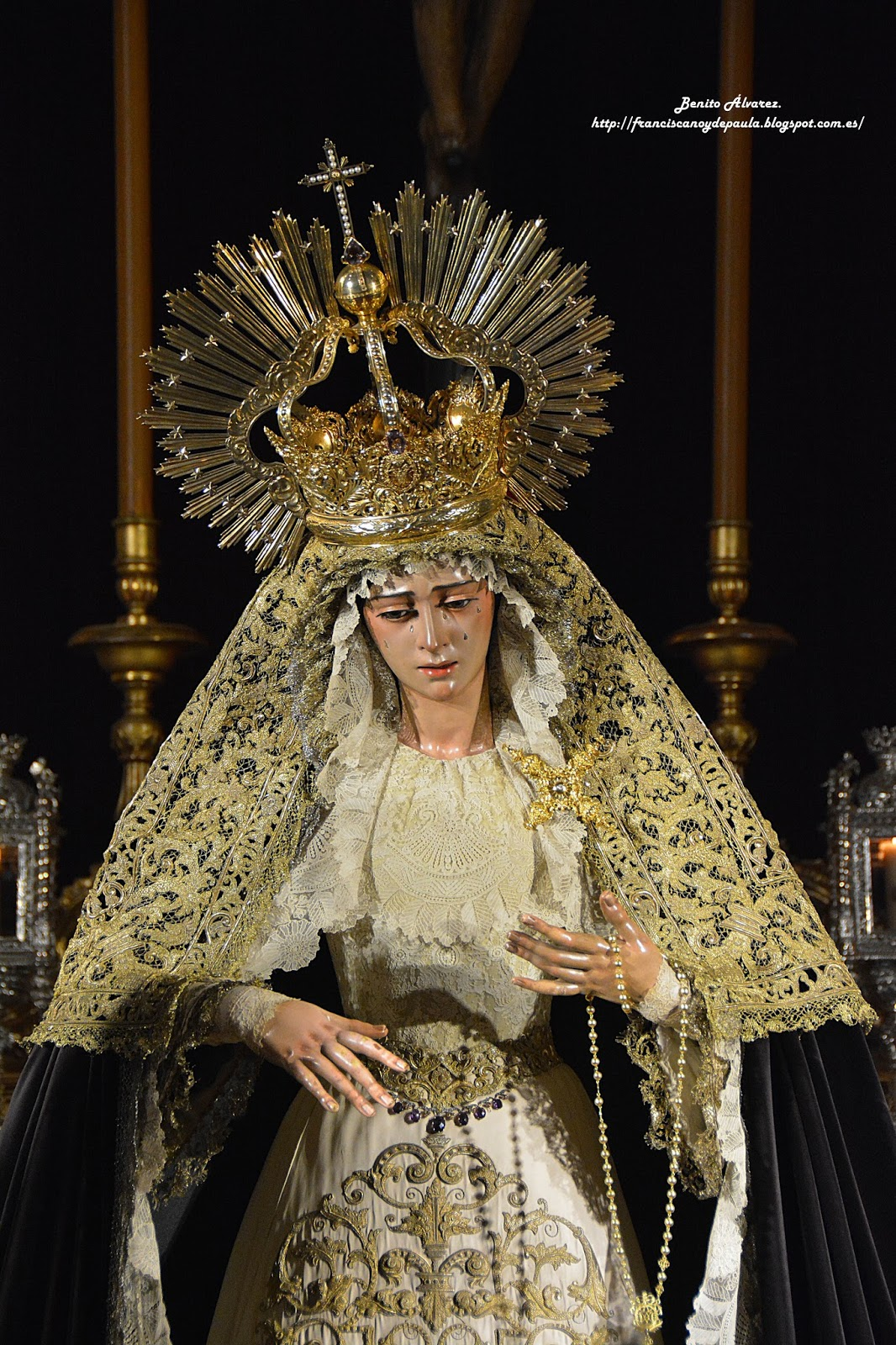 SEVILLA.- La festividad de la Inmaculada en imágenes, por Benito Álvarez