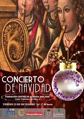 La Unión Musical Neojarillense ofrecerá un concierto de Navidad en la Fundación Centro de Acogida «San José»