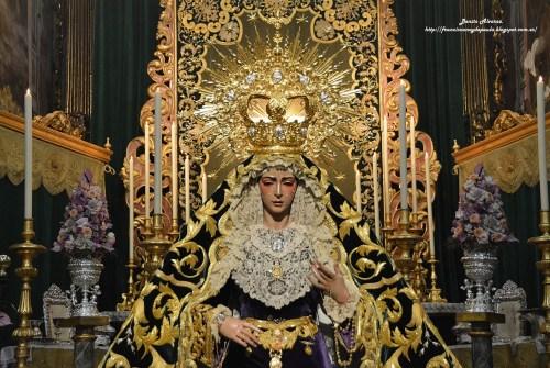 SEVILLA.-El besamanos a la Virgen del Rocío en imágenes, por Benito Álvarez