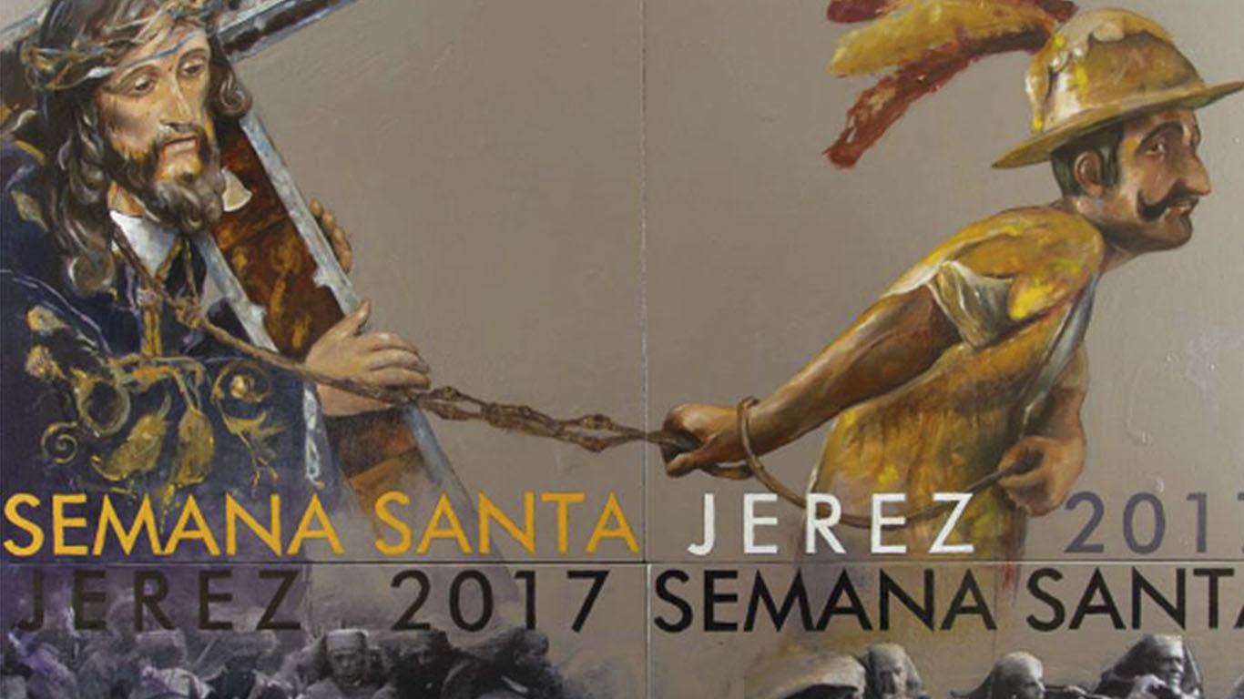 Así es el cartel de la Semana Santa de Jerez 2017
