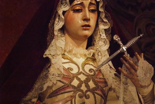 La Virgen del Valle, Gracia y Esperanza, Buen Fin y Lágrimas ataviadas para la festividad de la Candelaria. Por Lucas Álvarez