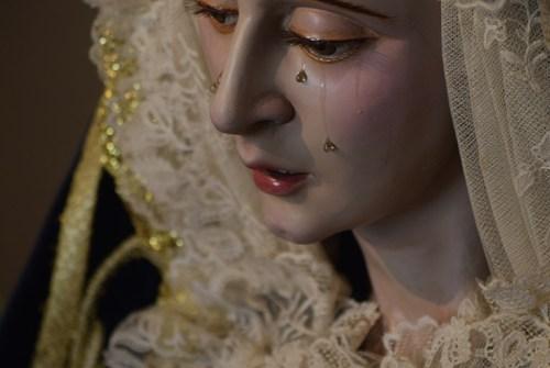 La Banda de la Soledad de la Algaba acompañará a la Virgen del Consuelo el Miércoles Santo