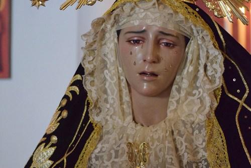 Rosario Público presidido por la Virgen de las Mercedes