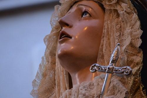 La Lanzada aprueba bordar el manto de María Santísima de Gracia y Esperanza