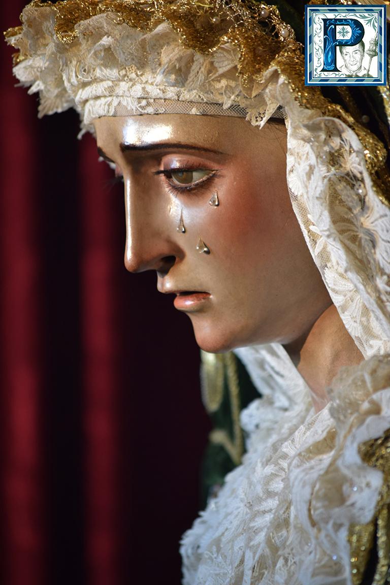 La Esperanza de la Yedra, de Besamanos Extraordinario con motivo del V Aniversario de su Coronación Canónica