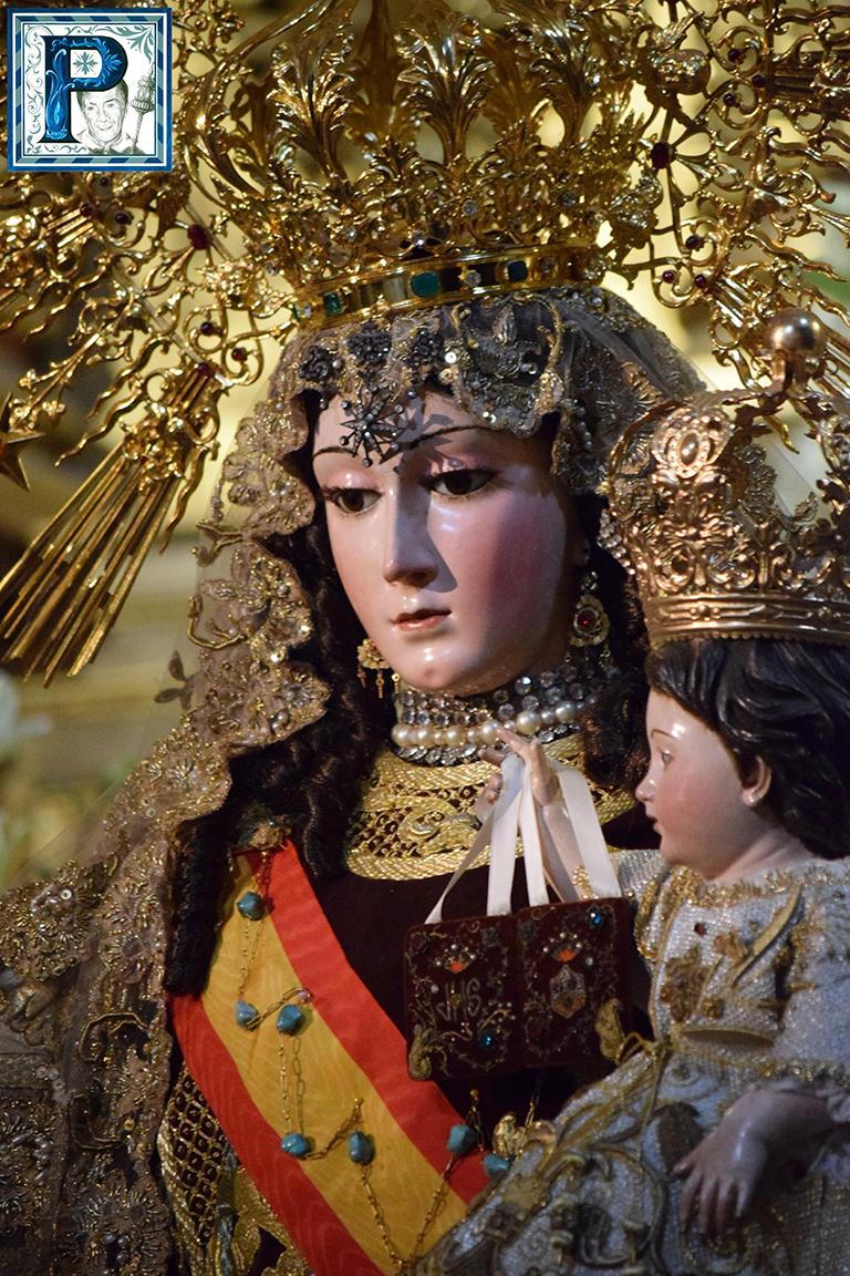 La Virgen del Carmen Coronada recorrerá hoy las calles de Jerez
