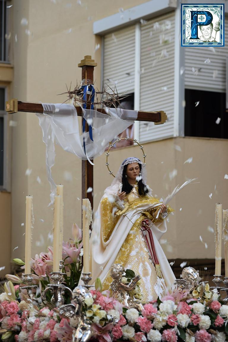 La Cruz de Mayo de la Redención procesionará hoy por las calles del barrio