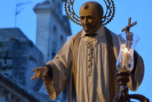 Los regresos de los pasos de los altares desde el objetivo de Lucas Álvarez