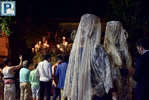 La Procesión de la Divina Pastora desde el objetivo de Lucas Álvarez