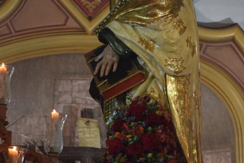La Procesión del Apóstol Santiago desde el objetivo de Lucas Álvarez