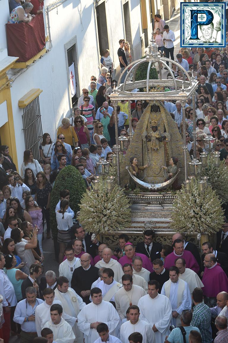 La procesión de la Virgen de la Merced en video