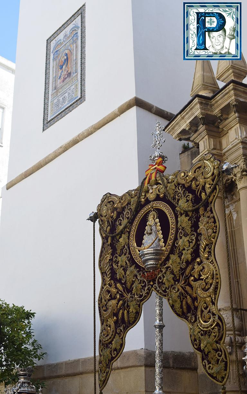 El Rosario con los Simpecados de las Hermandades desde el objetivo de Lucas Álvarez
